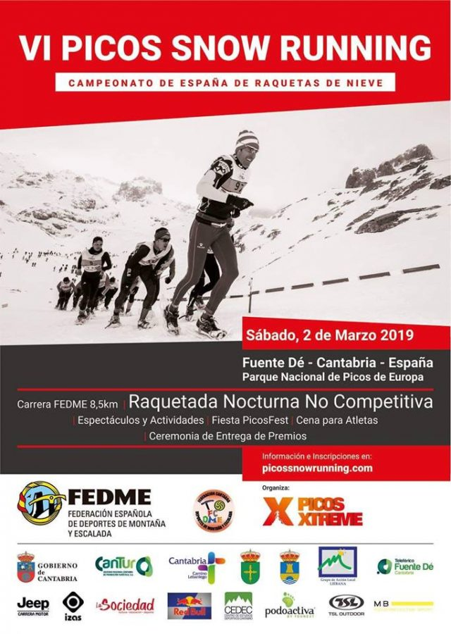 VI PICOS SNOW RUNNING – 2 MARZO 2019